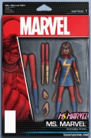 MS. MARVEL #1 (Action Figure Variant Cover)