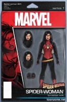 SPIDER-WOMAN #1 (Action Figure Variant)
