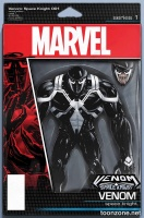 VENOM: SPACE KNIGHT #1 (Action Figure Variant Cover)