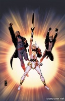 JUSTICE LEAGUE: GODS AND MONSTERS HC