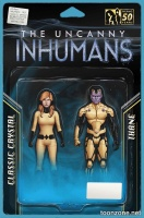 ALL-NEW INHUMANS #1 & 2 (Action Figure Variant)