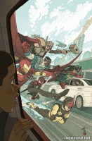ALL-NEW, ALL-DIFFERENT AVENGERS #3 (Afu Chan Variant)