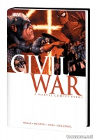 CIVIL WAR HC MCNIVEN COVER (NEW PRINTING)
