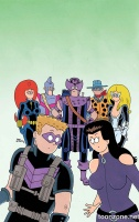 ALL-NEW HAWKEYE #2 (Fred Hembeck Variant)