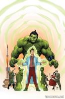 THE TOTALLY AWESOME HULK #1 (Variant Cover)