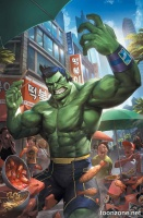 THE TOTALLY AWESOME HULK #1 (Woo Cheol Variant)