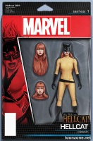PATSY WALKER, AKA HELLCAT! #1 (Action Figure Variant)