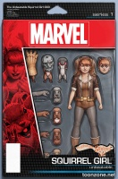 THE UNBEATABLE SQUIRREL GIRL #3 (Action Figure Variant)