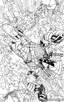 DEATHSTROKE #14 (Coloring Book Variant)