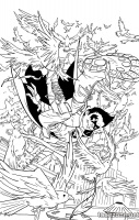 ROBIN, SON OF BATMAN #8 (Coloring Book Variant)