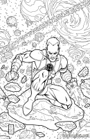 SINESTRO #19 (Coloring Book Variant)
