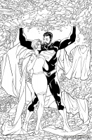SUPERMAN: LOIS & CLARK #4 (Coloring Book Variant)