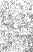 STARFIRE #8 (Coloring Book Variant)