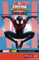 MARVEL UNIVERSE ULTIMATE SPIDER-MAN SPIDER-VERSE #3 (OF 4)