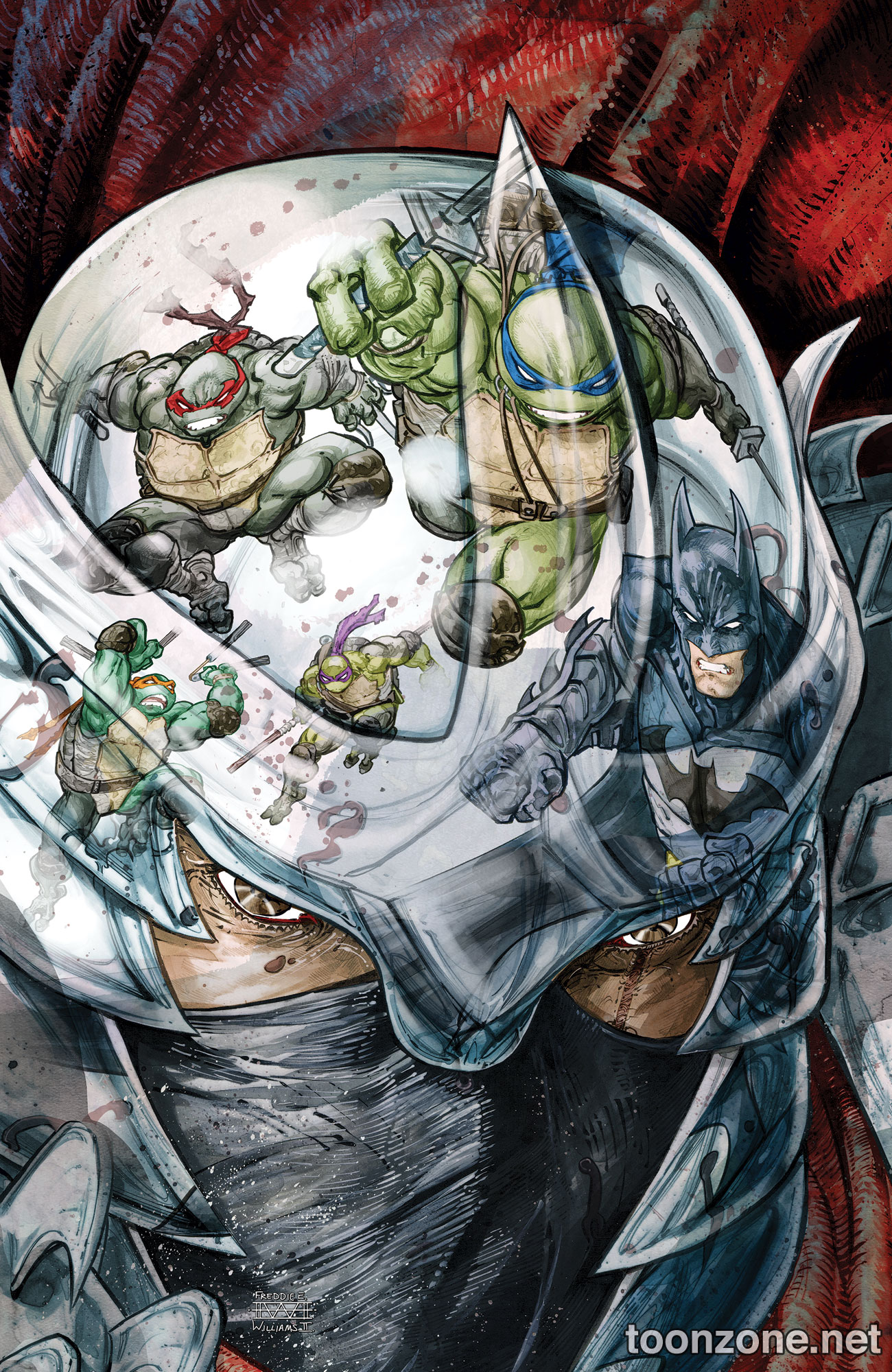 BATMAN/TEENAGE MUTANT NINJA TURTLES #3