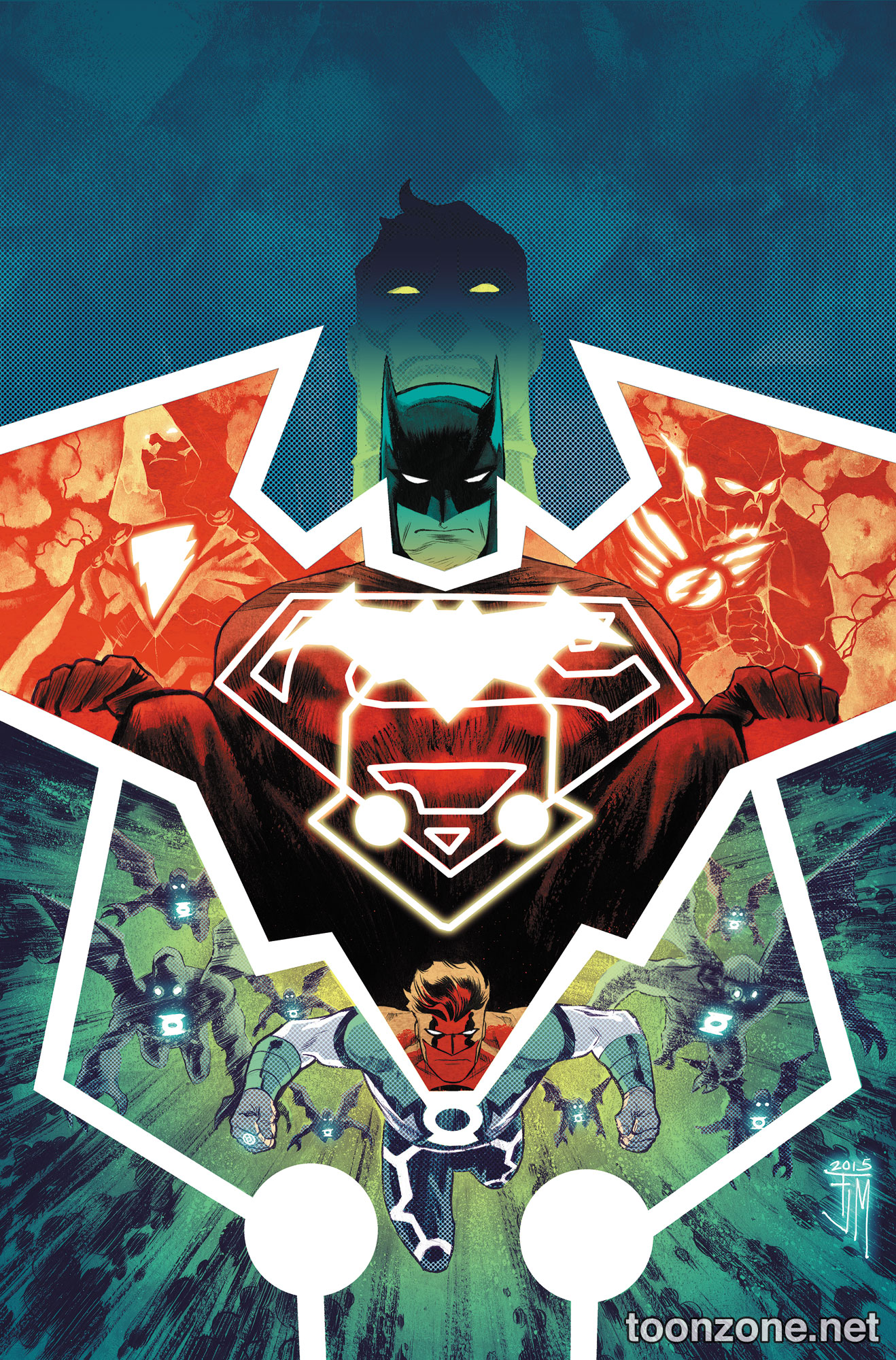 JUSTICE LEAGUE: DARKSEID WAR – POWER OF THE GODS HC