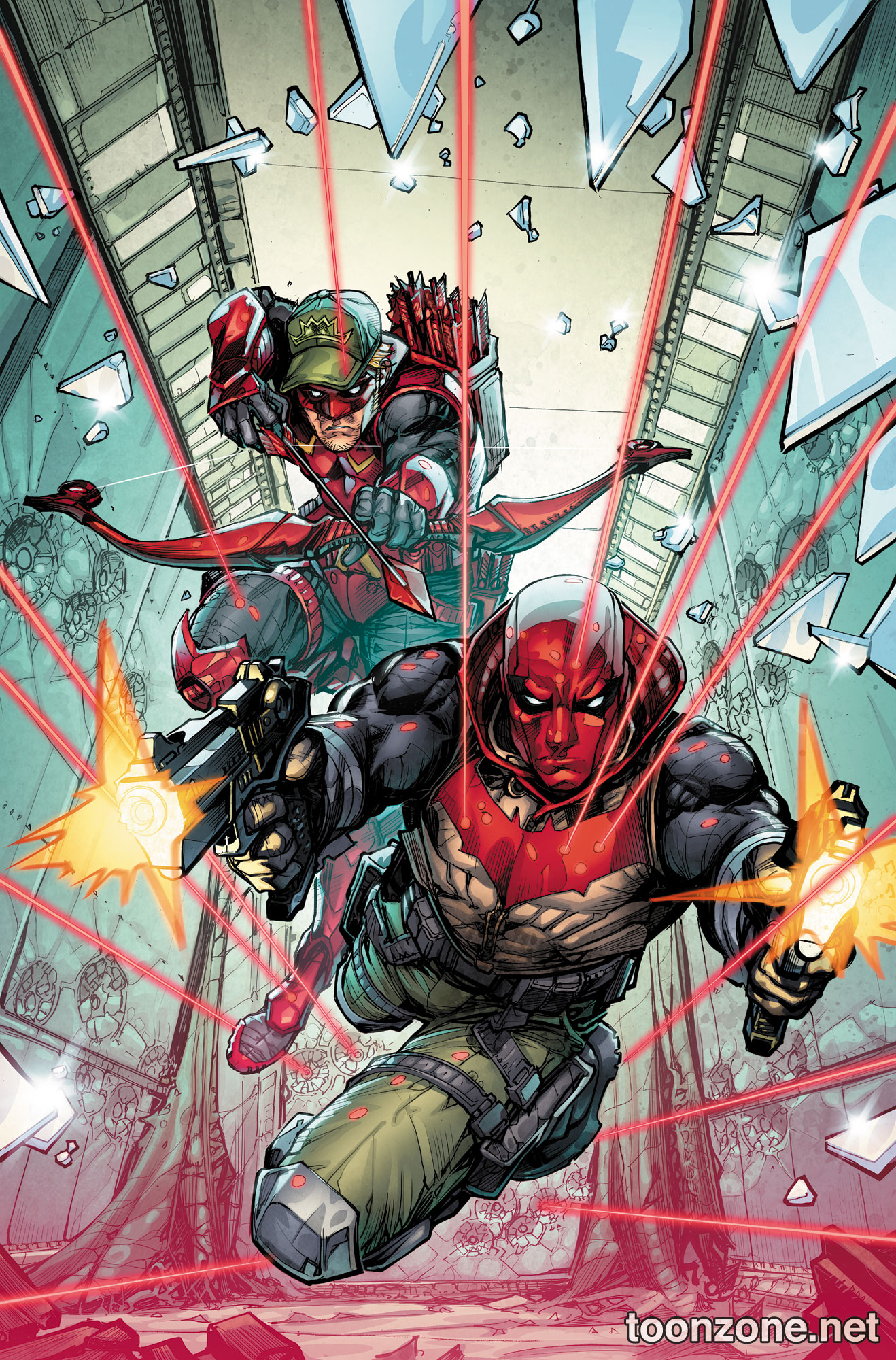 RED HOOD/ARSENAL VOL. 1: OPEN FOR BUSINESS TP