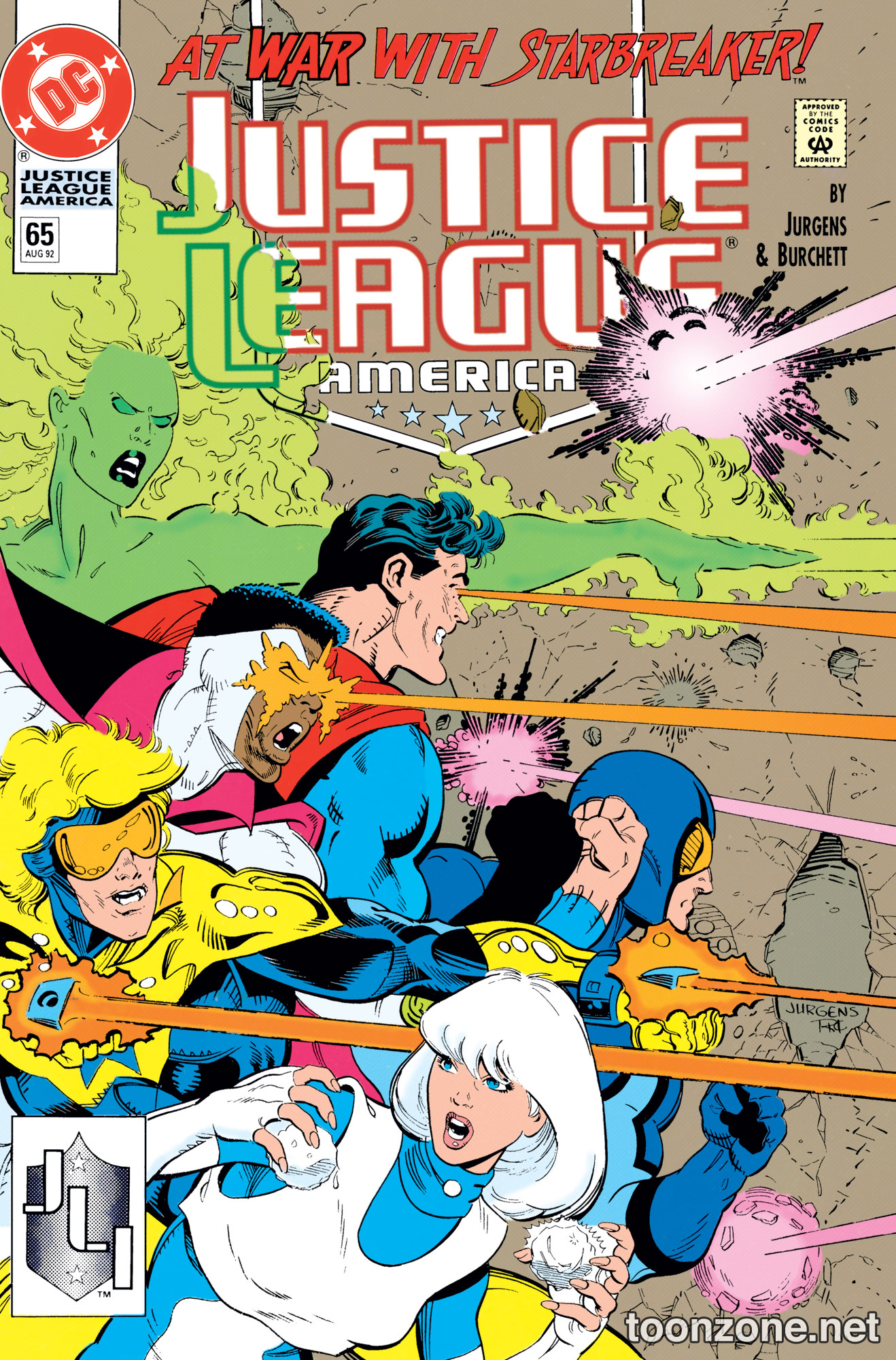 SUPERMAN AND THE JUSTICE LEAGUE OF AMERICA VOL. 1 TP