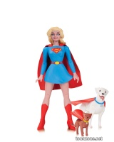 DC COMICS DESIGNER SERIES: DARWYN COOKE— SUPERGIRL ACTION FIGURE