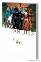 CIVIL WAR: BLACK PANTHER TPB (NEW PRINTING)