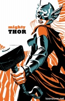 THE MIGHTY THOR #4 (Michael Cho Variant)
