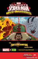 MARVEL UNIVERSE ULTIMATE SPIDER-MAN: CONTEST OF CHAMPIONS #1