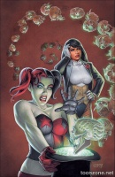 HARLEY'S LITTLE BLACK BOOK #3 (Variant Cover)