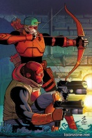 RED HOOD/ARSENAL #11 (Variant Cover)
