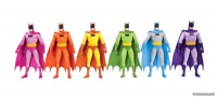 BATMAN: RAINBOW ACTION FIGURE 6-PACK