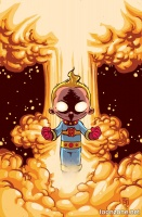 MIRACLEMAN BY GAIMAN & BUCKINGHAM: THE SILVER AGE #3 (Skottie Young Variant)