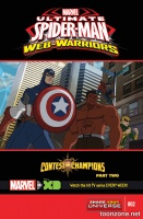 MARVEL UNIVERSE ULTIMATE SPIDER-MAN: CONTEST OF CHAMPIONS #2