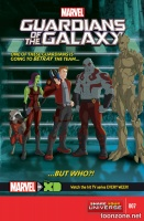 MARVEL UNIVERSE GUARDIANS OF THE GALAXY #7