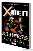 X-MEN: DAYS OF FUTURE PAST PROSE NOVEL MASS MARKET PAPERBACK