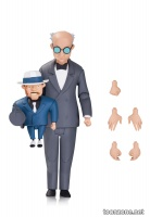 THE NEW BATMAN ADVENTURES: SCARFACE AND THE VENTRILOQUIST ACTION FIGURE