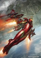 INTERNATIONAL IRON MAN #3 (Skan Variant)