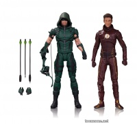 DC TV: ARROW AND THE FLASH ACTION FIGURE 2-PACK