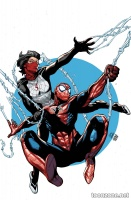 SPIDER-MAN & SILK: THE SPIDER(FLY) EFFECT #4 (OF 4)