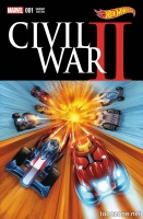 CIVIL WAR II #1 (OF 7) (Hot Wheels Variant)
