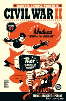 CIVIL WAR II #2 (OF 7) (Michael Cho Variant)