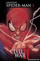 CIVIL WAR II: AMAZING SPIDER-MAN #1 (OF 4) (Phil Noto Variant)