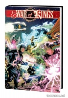 INHUMANS/X-MEN: WAR OF KINGS OMNIBUS HC