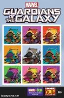 MARVEL UNIVERSE GUARDIANS OF THE GALAXY #9
