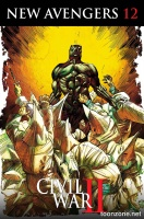 NEW AVENGERS #12 (Black Panther 50th Anniversary Variant)