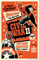 CIVIL WAR II #3 (OF 7) (Michael Cho Variant)