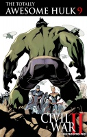 THE TOTALLY AWESOME HULK #8 - 9