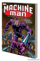 MACHINE MAN BY KIRBY & DITKO: THE COMPLETE COLLECTION TPB