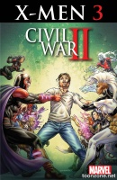 CIVIL WAR II: X-MEN #3 (of 4)