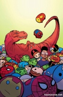MOON GIRL AND DEVIL DINOSAUR #10 (Tsum Tsum Variant)