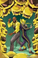 POWER MAN AND IRON FIST #7 (Tsum Tsum Variant)