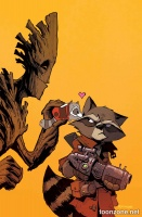 ROCKET RACCOON & GROOT #8 (Tsum Tsum Variant)